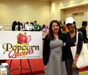 Popcorn Queens CEO April w/ Nicely CEO Whitney